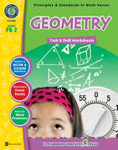 Geometry - Task & Drill Sheets PreK- Gr. 2