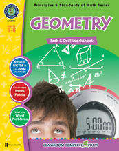 Geometry Task & Drill Sheets Gr. 6- 8