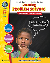 Learning Problem Solving- 21st Century Skills Grade 3- 8 ( motivation, productivity, achievement and success, BC3, BC4, BC5, BC6, BC7, BC8 )