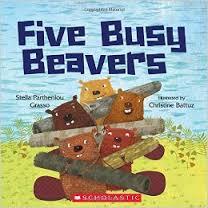 Five Busy Beavers (animal, 5, habitat)