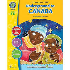 Underground to Canada Lit Kit (Novel not incl.) (Study Guide, BC6)