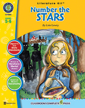 Number the Stars Literature Kit (novel not incl.) Study Guide (HCOS6, CP6, BC6)