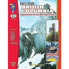 Let's Visit British Columbia Gr. 2-4