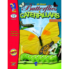 All About Butterflies & Caterpillars Gr. 1-2 (Life cycle, animal, habitat, BC2)