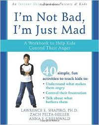 I'm Not Bad, I'm Just Mad Workbook: A Workbook to Help Kids Control Their Anger (depression, anxiety, health)