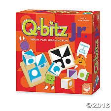 Qbitz Jr. Game (q-bitz,pattern, strategy, Math game)