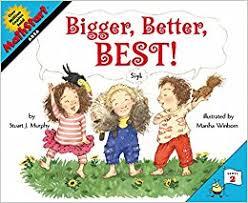 Bigger, Better, Best! (MathStart 2) ( area, BC1)
