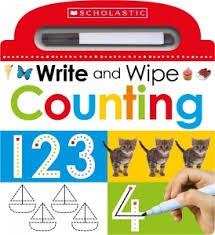 Write and Wipe: Counting (Count, Numbers) Wipe Off