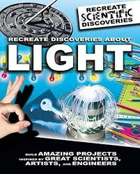 Recreate Discoveries About Light (STEM, hands on projects, electricity)