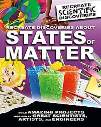 Recreate Discoveries About States of Matter (Solids, Liquids, Gases, Chemistry, Hands On projects) BC4