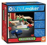 Keva Bot Maze (engineering) STEM  gift ideas (wooden planks)