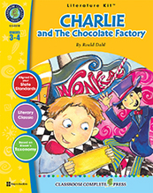 Charlie and the Chocolate Factory Literature Kit Grade 3- 4 (Novel Sold Separately) (CP3, BC3)