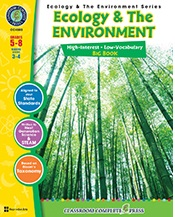 Ecology and the Environment - Big Book (cells, ecosystems, classifications)