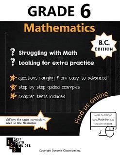 BC MATH 6 (Mathematics Guide, Dynamic Classroom) BC6