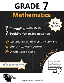 BC MATH 7 (Mathematics Guide, Dynamic Classroom) (HCOS7, BC7, CP7,