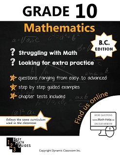 BC MATH 10 (Mathematics Guide, Dynamic Classroom) BC10