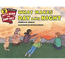 What Makes Day and Night? (Stage 2) BC1,BC4  Easy Read