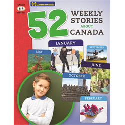 52 Weekly Stories About Canada Grades 6-7( Canadian Reading Comprehension)