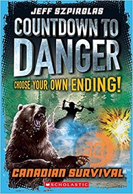 Countdown to Danger Canadian Survival (interactive novel)