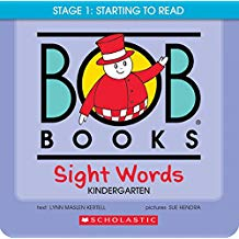 Bob Books Sight Words Kindergarten (BCK)