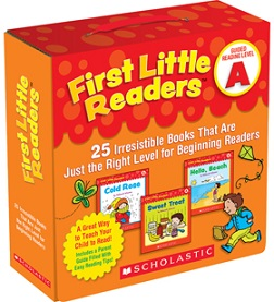 First Little Readers Pack A (BCK, BC1,BC2)