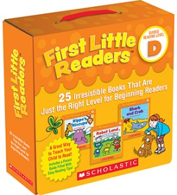First Little Readers Pack D (BCK, BC1,BC2)