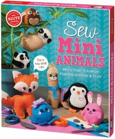 Klutz Sew Mini Animals (sewing, gift ideas)
