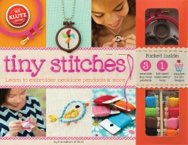 Klutz Tiny Stitches (embroidery, crafts, sewing, gift ideas)