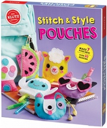 Klutz Stitch & Style Pouches (sewing, gift ideas)
