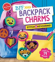 Klutz BFF Backpack Charms (sewing, stitching, gift ideas)