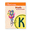 Horizons Math Kindergarten Teacher's Guide