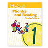 Horizons Phonics and Reading Grade 1 Teacher's Guide  (faith based)