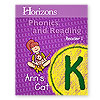 Horizons Phonics and Reading Kindergarten Student Reader 1 (faith based)