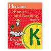 Horizons Phonics and Reading Kindergarten Student Reader 3  (faith based)