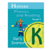 Horizons Phonics and Reading Kindergarten Student Reader 4  (faith based)