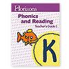 Horizons Phonics and Reading Kindergarten Teacher's Guide 1  (faith based)