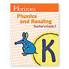 Horizons Phonics and Reading Kindergarten Teacher's Guide 2  (faith based)