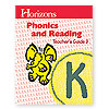 Horizons Phonics and Reading Kindergarten Teacher's Guide 3  (faith based)