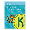 Horizons Phonics and Reading Kindergarten Student Book 4  (faith based)
