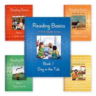 Language Arts Grade 1 Reading Basics Set, Alpha Omega (faith based)