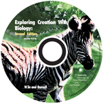 Exploring Creation with Biology Full Course CD (Apologia, Faith based)