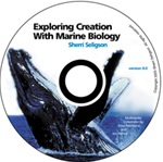 Exploring Creation with Marine Biology Full Course CD (Apologia, Faith based)