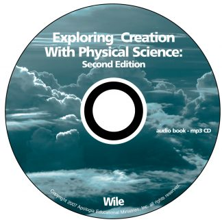 Exploring Creation with Physical Science MP3 Audio CD (Apologia)