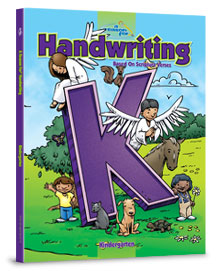 A Reason For Handwriting K Kindergarten Manuscript (BCK, faith based)