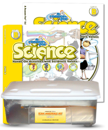 A Reason For Science Level B Complete Pack (faith-based, hands on, BC2)
