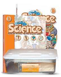 A Reason For Science Level D Complete Pack (faith-based, hands-on)
