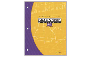 Saxon Math 87 Tests & Worksheets Booklet (3rd ed)