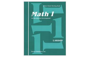 Saxon Math Grade 1 Student's Meeting Book