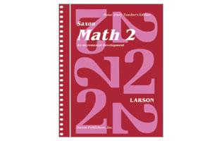 Saxon Math Grade 2 Teacher's Manual