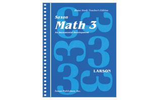 Saxon Math Grade 3 Teacher's Manual